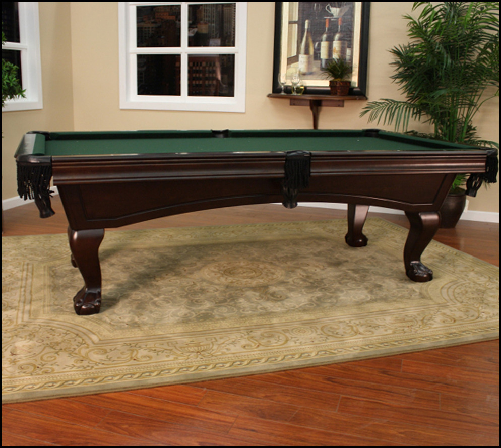 I Sold Olhausen Tables For Ten Years. I Was Questioning If Any One Has  Really Played On An American Heritage Table.