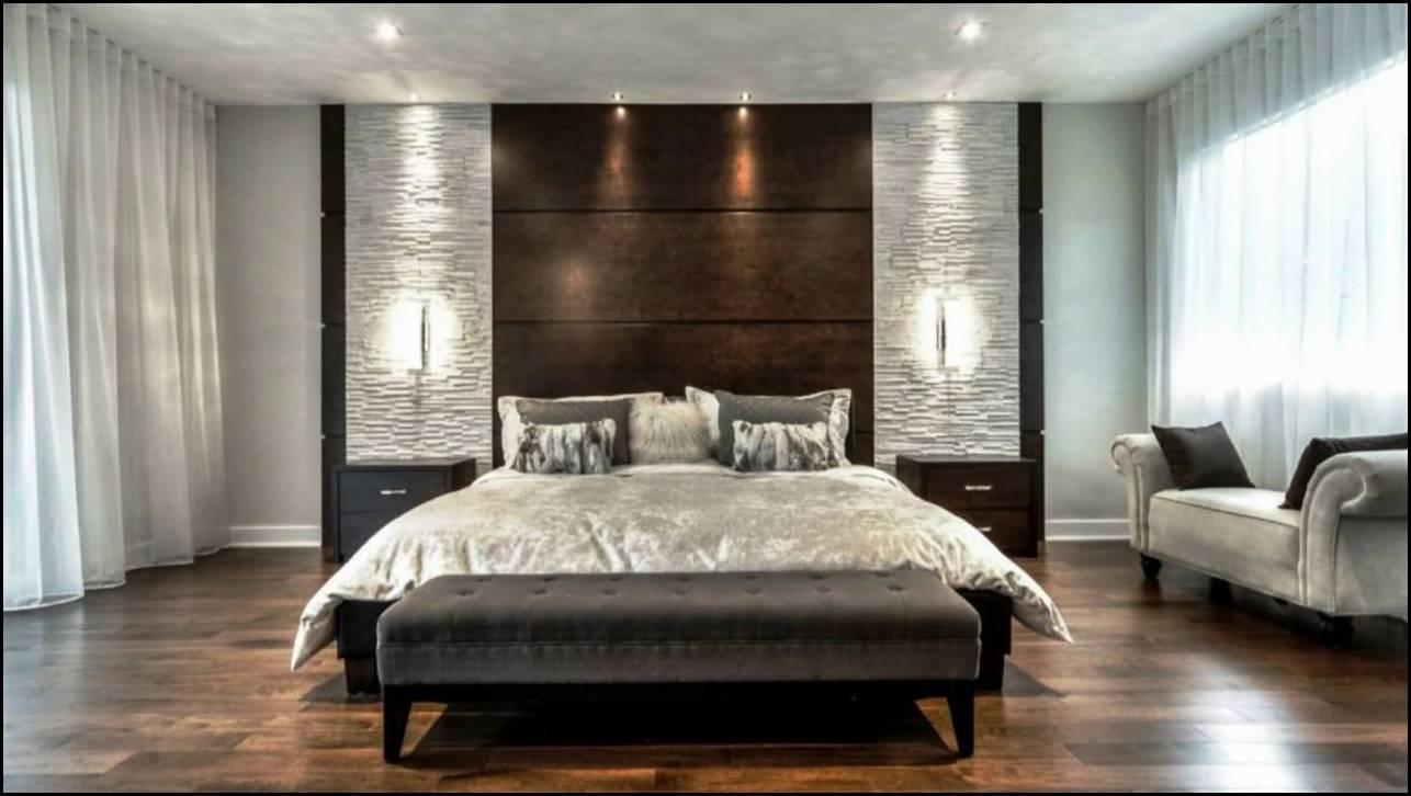 Bed Back Wall Design And Style