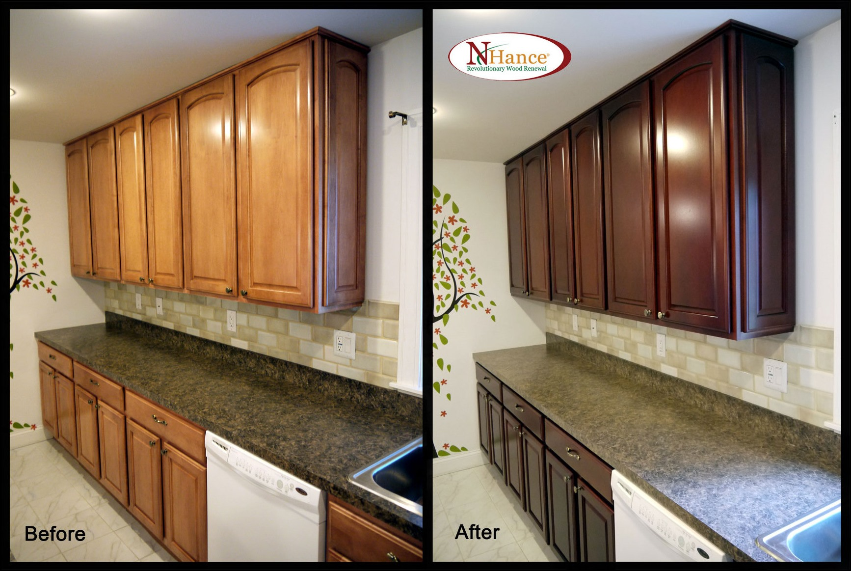 easiest way to refinish kitchen cabinets best way to refinish kitchen cabinets 4 9635