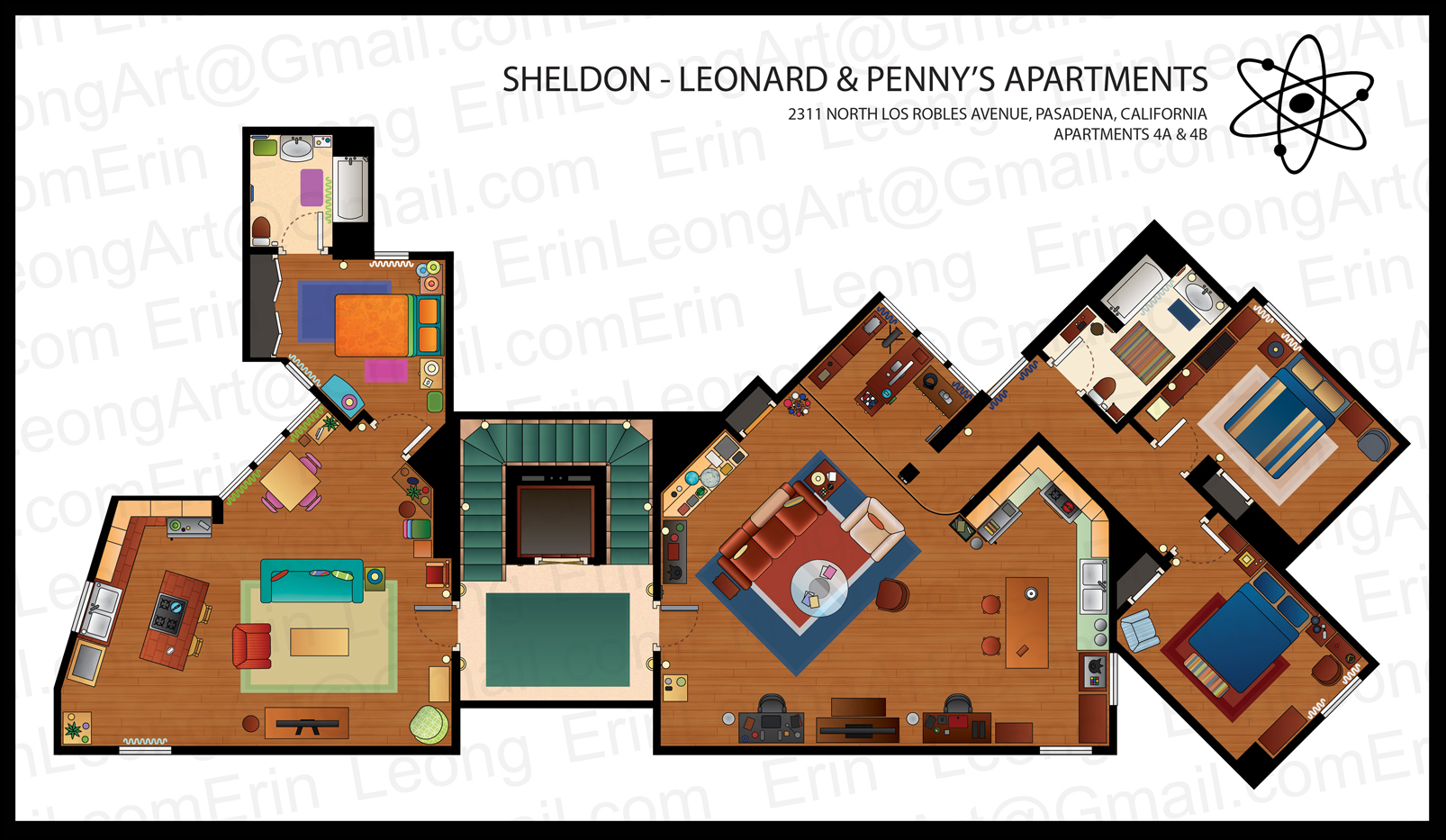 Floor Plans From Some Tv Series Sims And Tvs Apartment Plan Frasier Crane Amazingjpg Program Amazing The Home Up Very