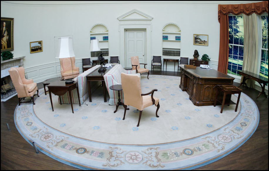 oval office decor. An Oval Workplace Might Have Symbolized His View Of The Modern Day-day President. When West Wing Caught Fire In 1929, Original Office Was Decor