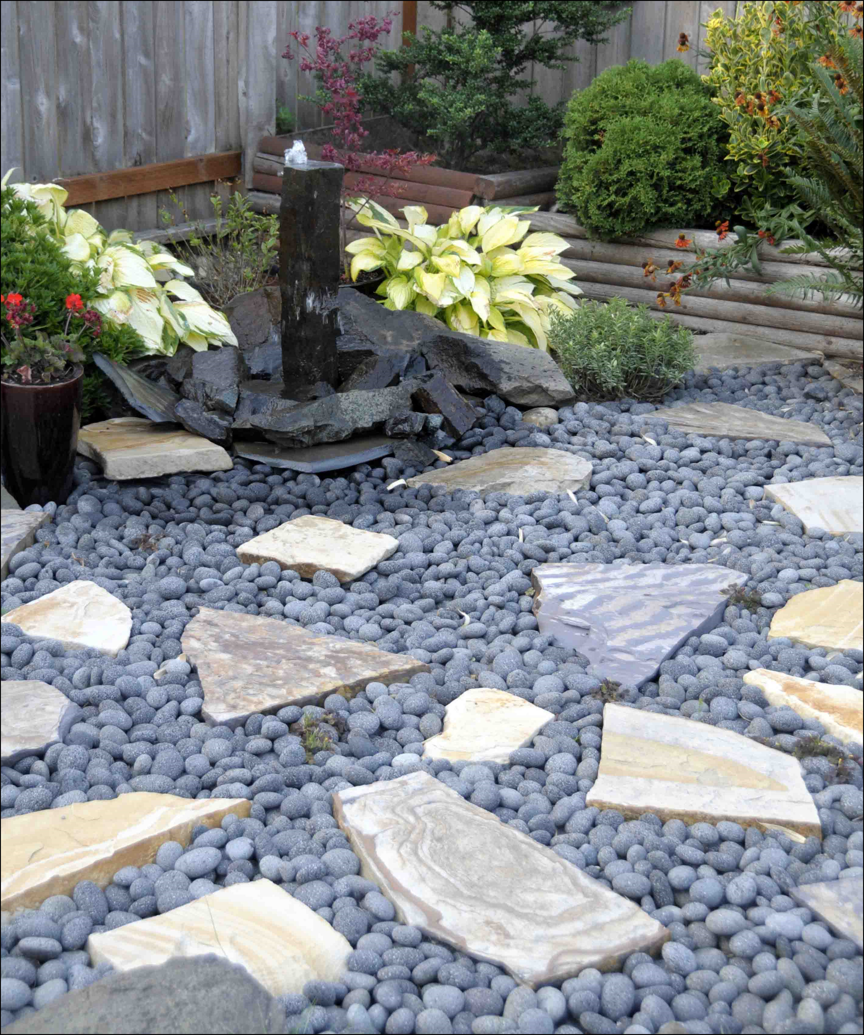 main outdoor decorative stones stepping stone pdp recycled decor joss rubber dragonflies