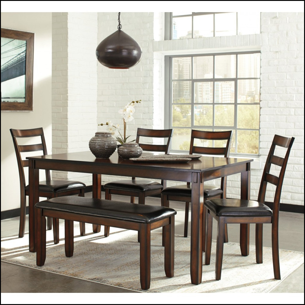 Dining space table sets new dining area sets ashley for Dining area furniture