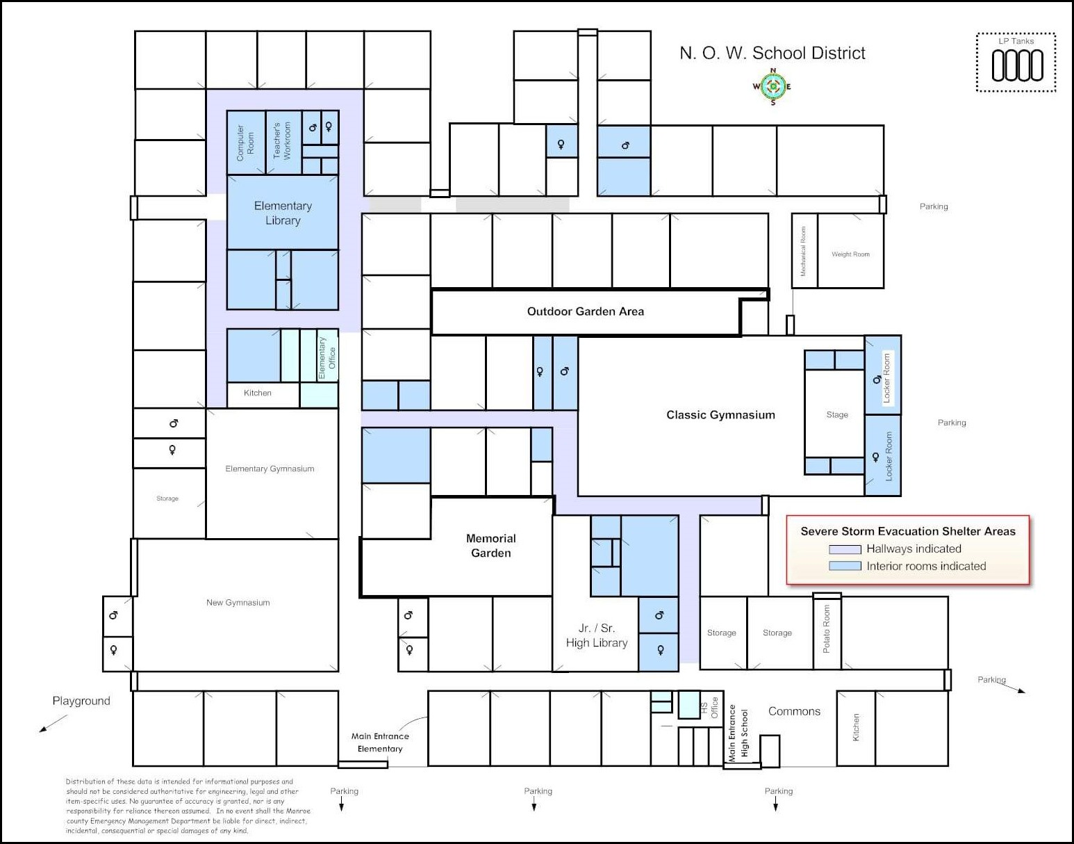how to draw an evacuation floor plan