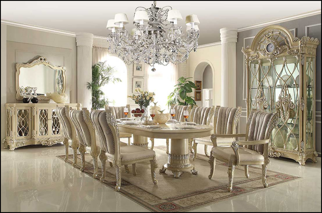 Costly dining space furnishings
