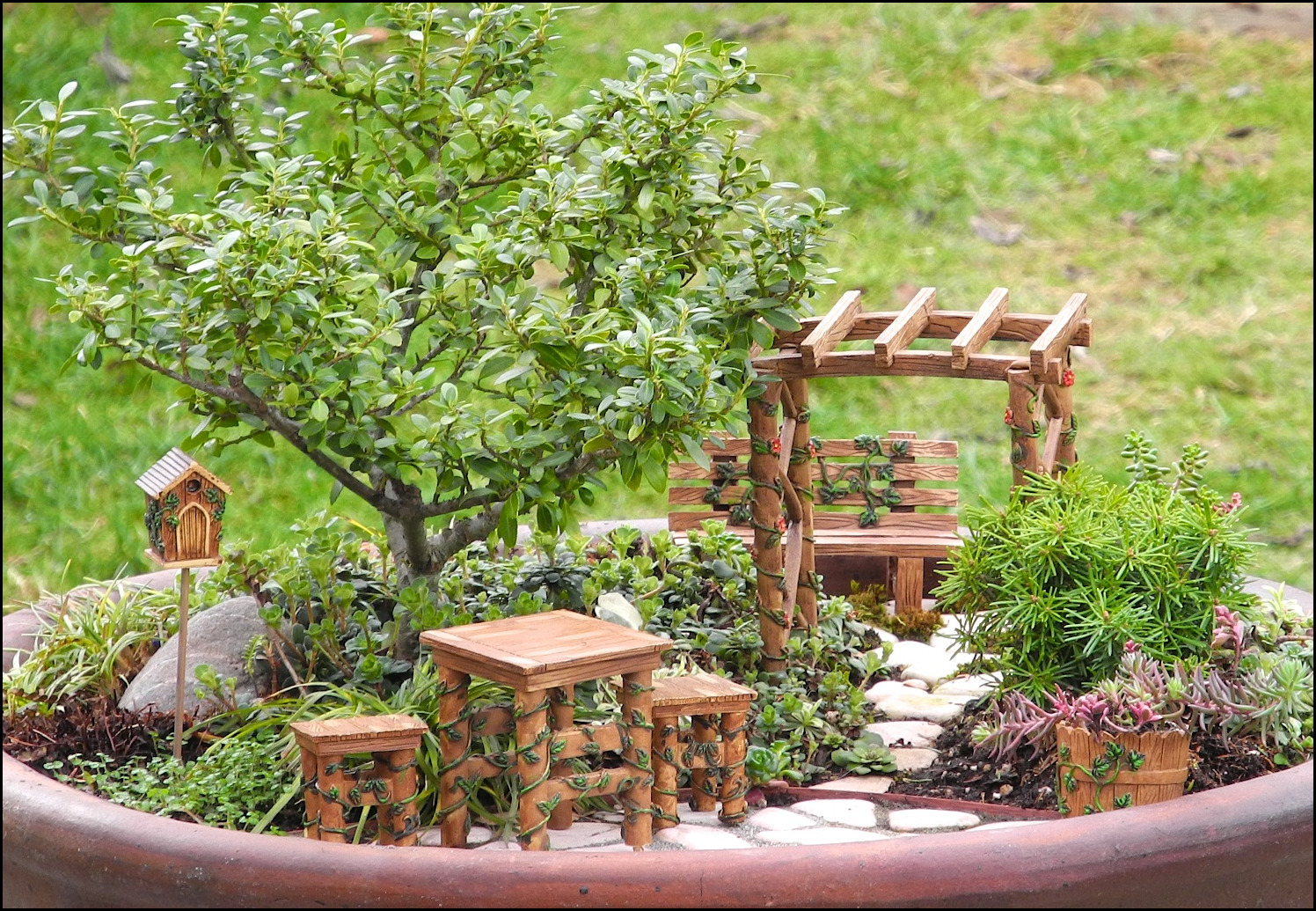 Backyard Statues fairy backyard statues & accents |