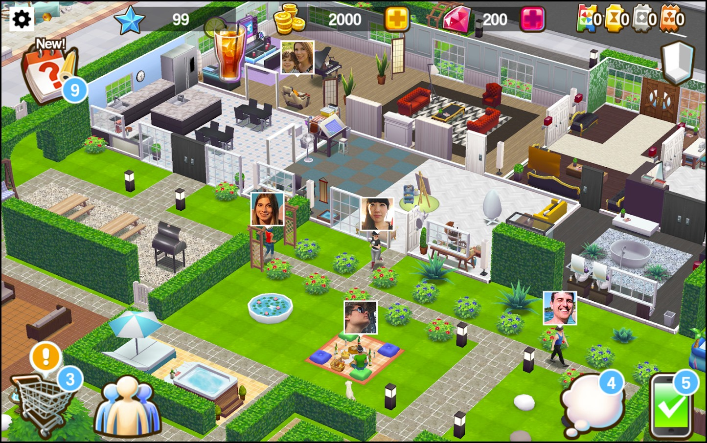 House design and style hacks for House design games