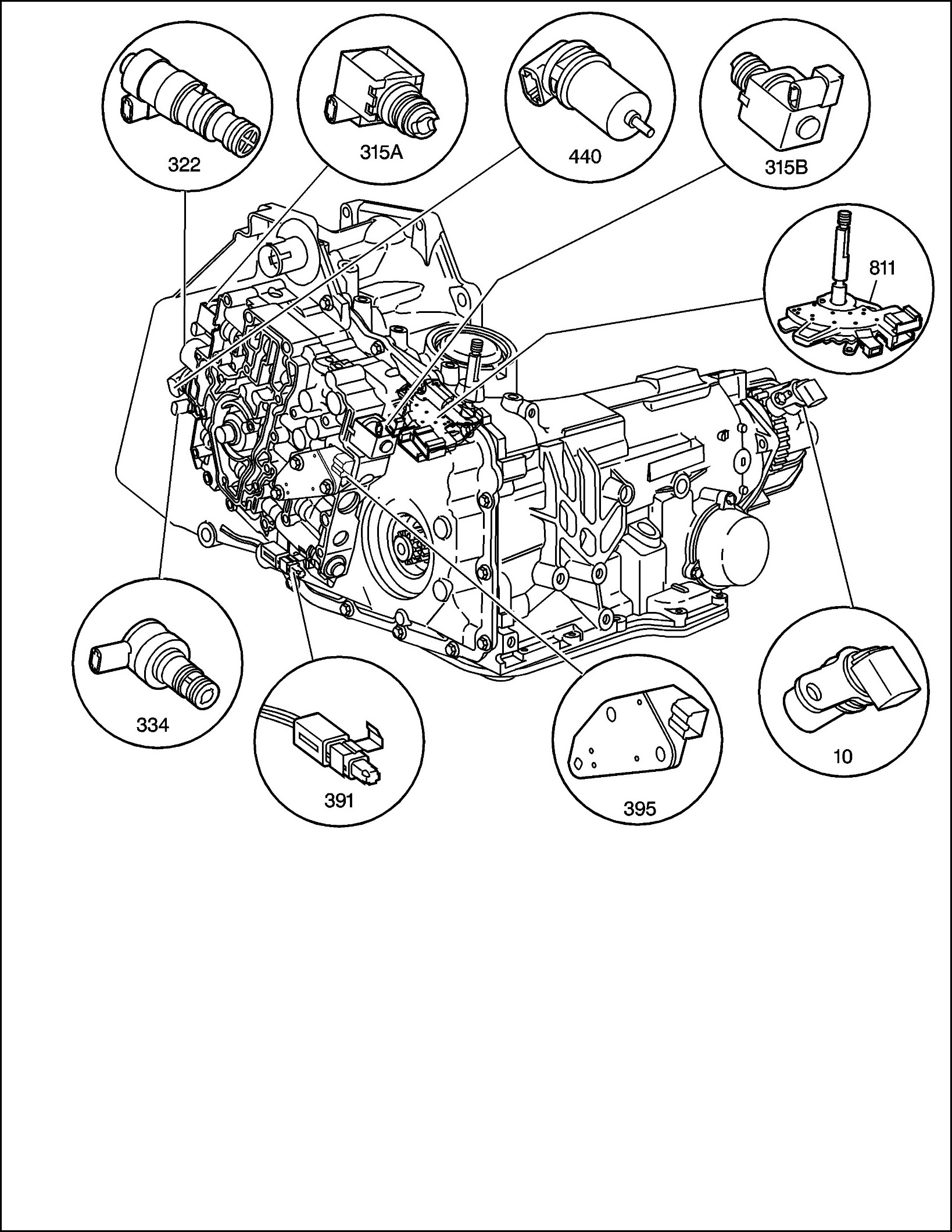 Transmission Solenoids Replacement Expense