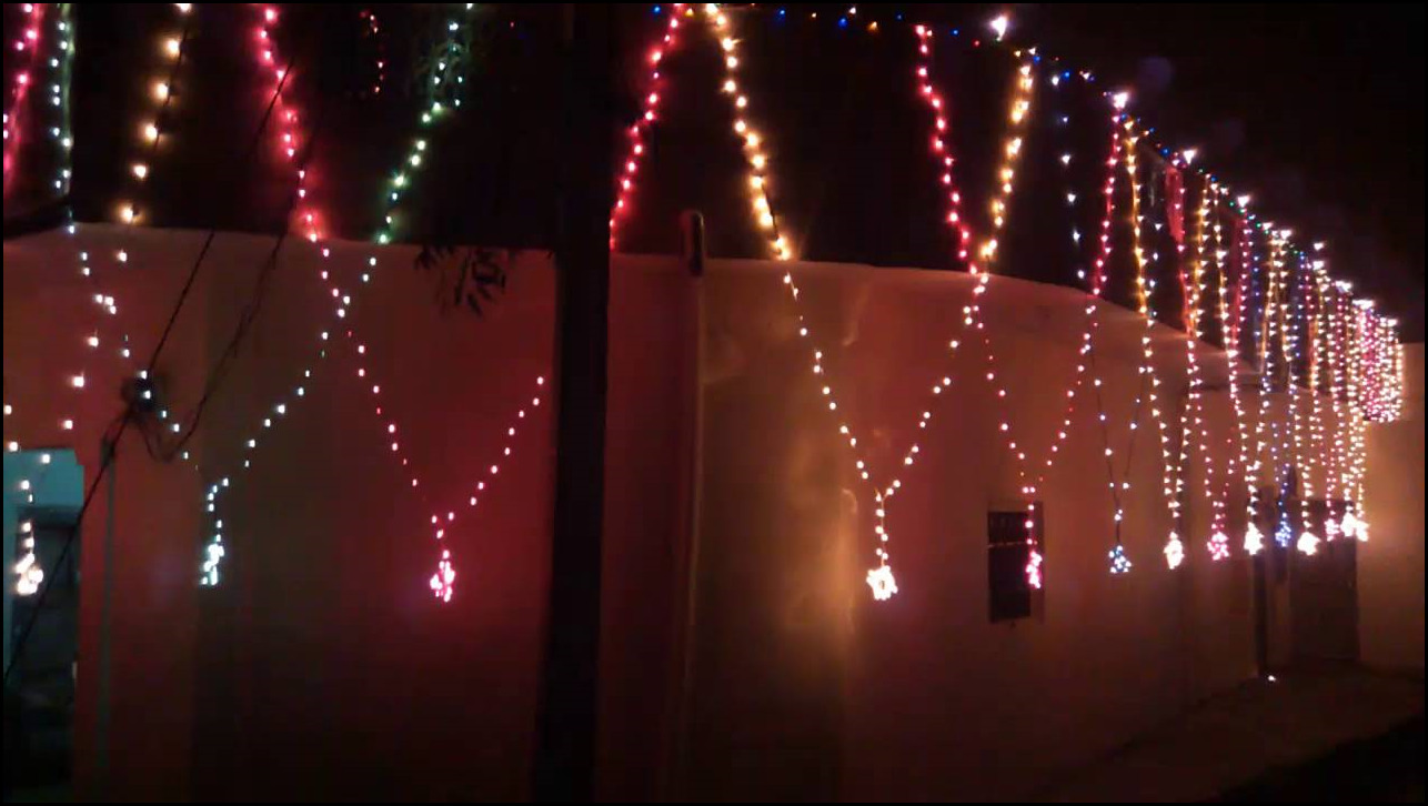 Diwali Decorations Ideas At Home Part - 24: Go And Make Your Home Colorful This Diwali With The Above Strategies And  Send Us A Image. Fairy Lights Snaz Up The Room In The Best Achievable Way  And This ...
