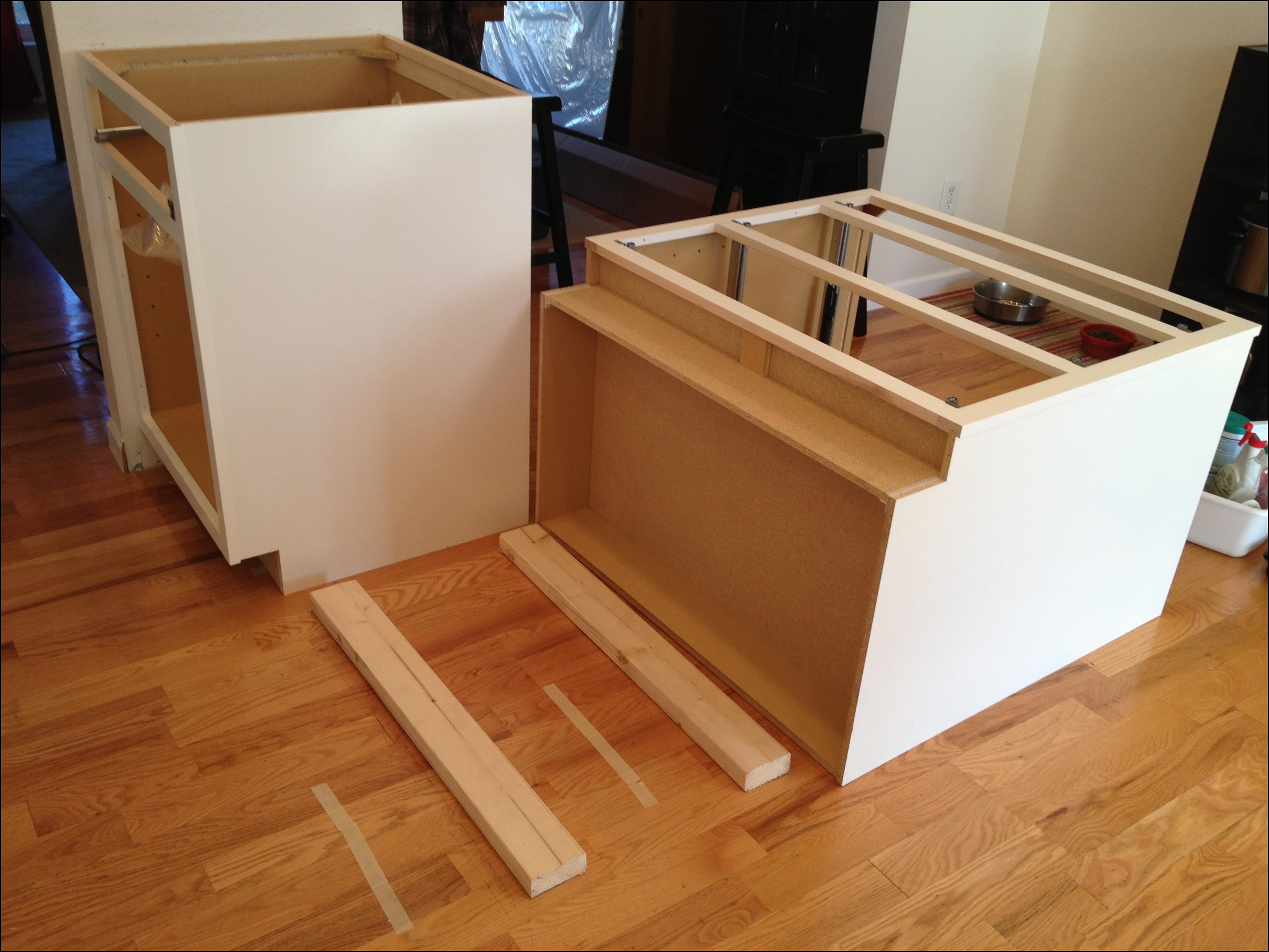 how to install kitchen island cabinets marvelous how to install kitchen island cabinets cabinet 8702