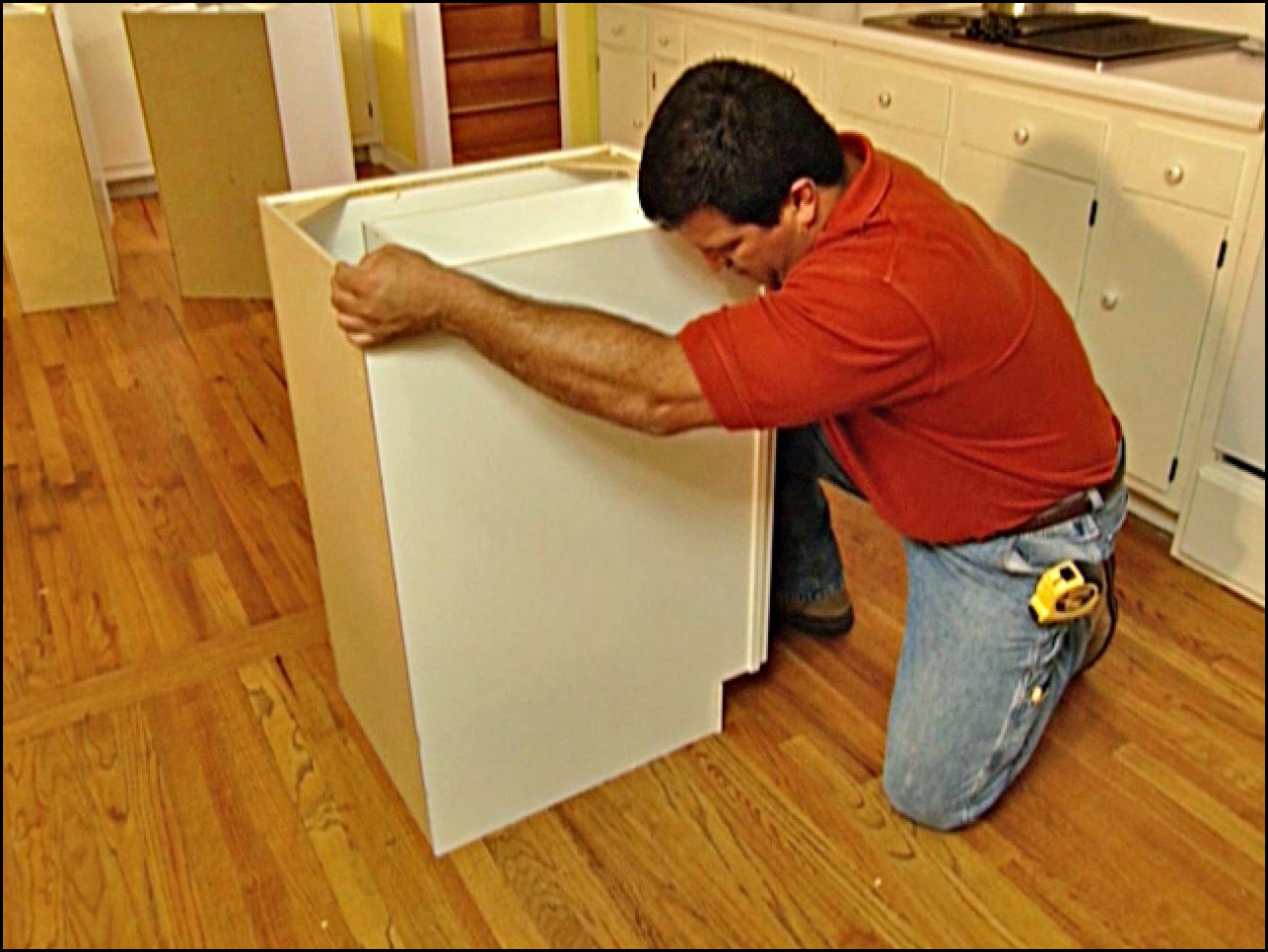 ... Marvelous How To Install Kitchen Island Cabinets Cabinet ...
