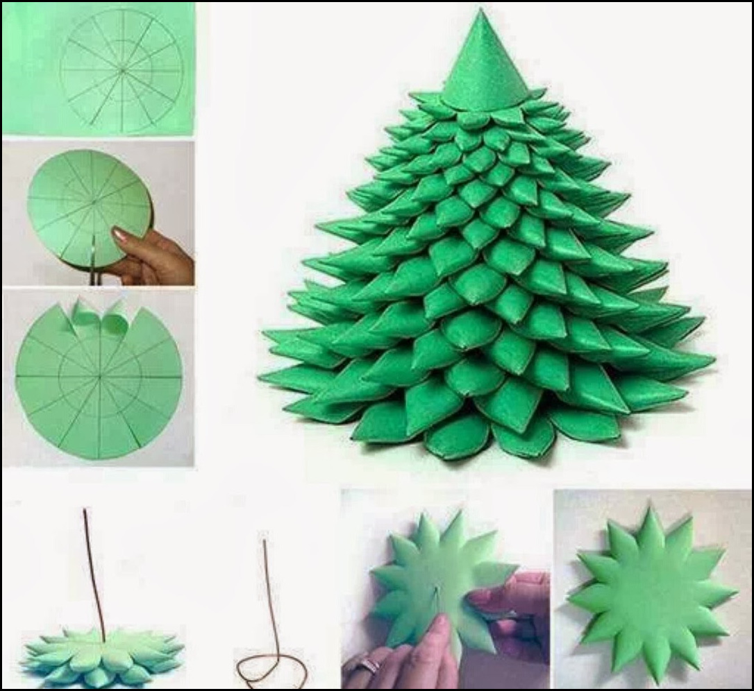 How to make paper ornaments earrings tips homemade simple for How to make paper christmas decorations at home