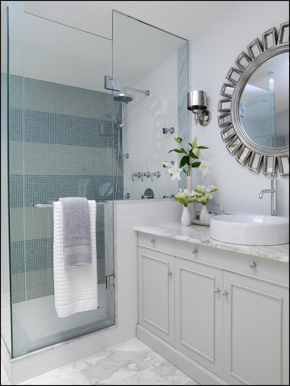 Flooring Concepts For Little Bathrooms |