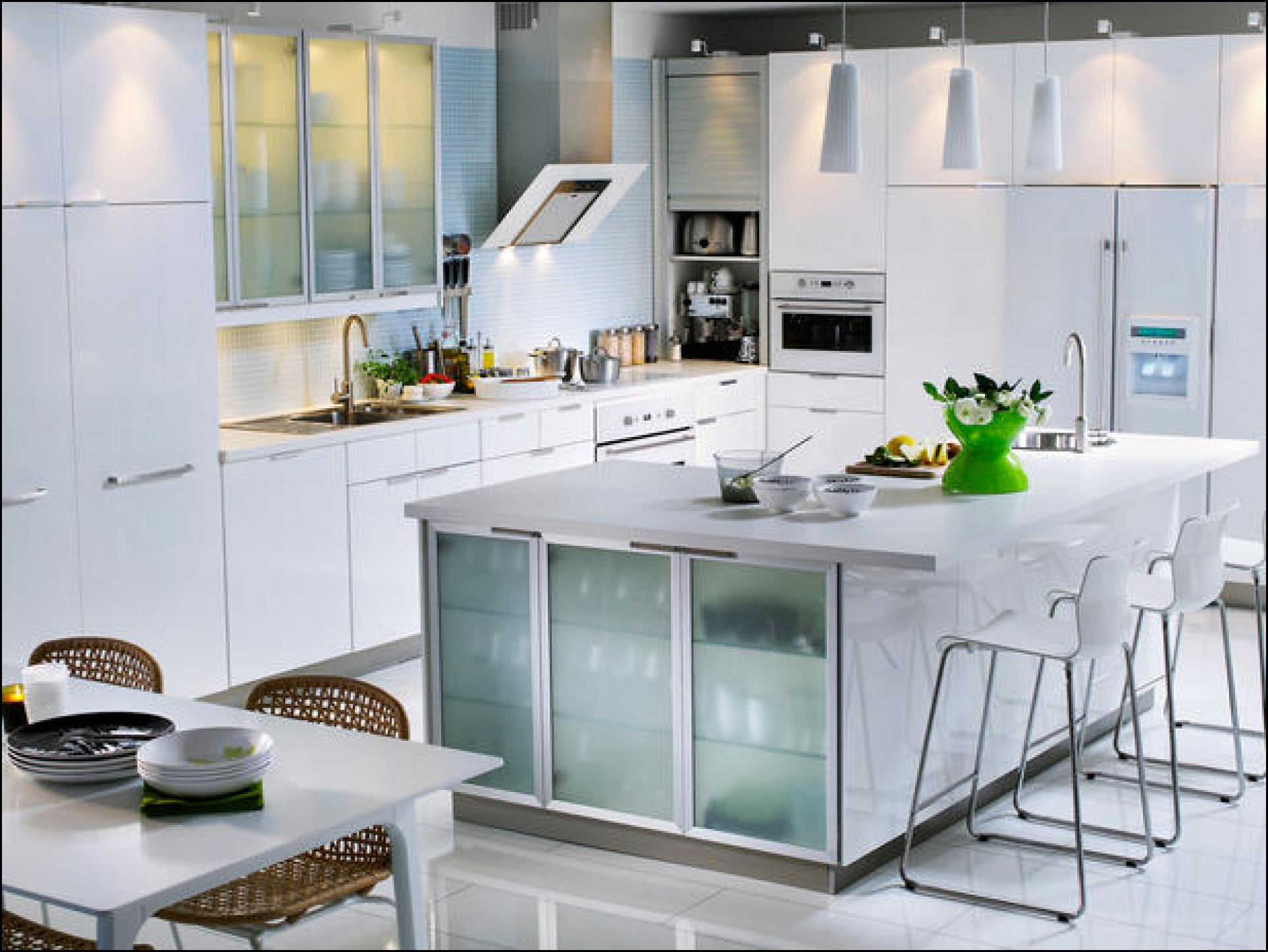 Incroyable White Ikea Kitchens Pictures, Free Of Charge On The Web Kitchen Cabinets  With Gray Kitchen Cabinets With Self Confidence.