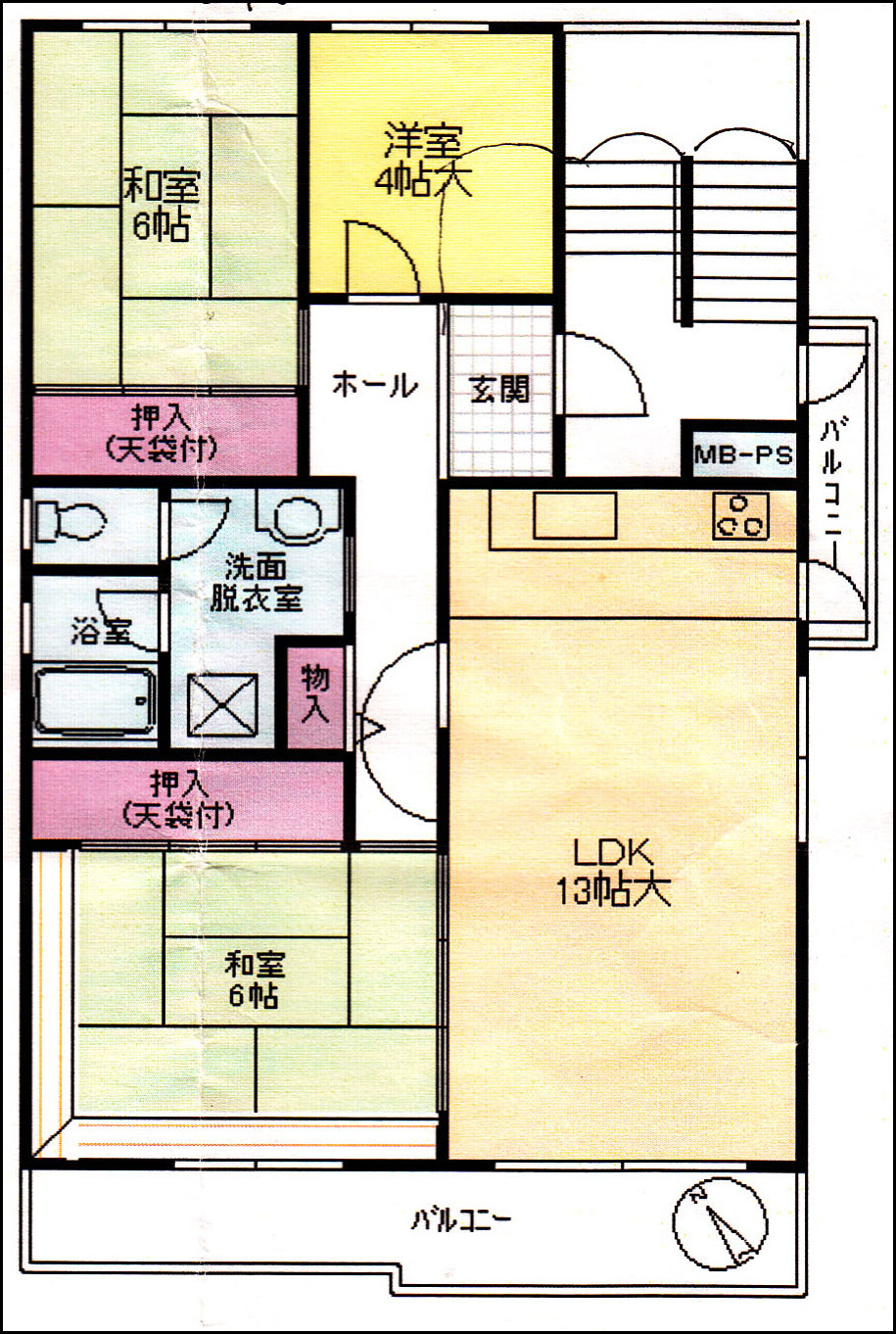 Anese Apartment Layout 5