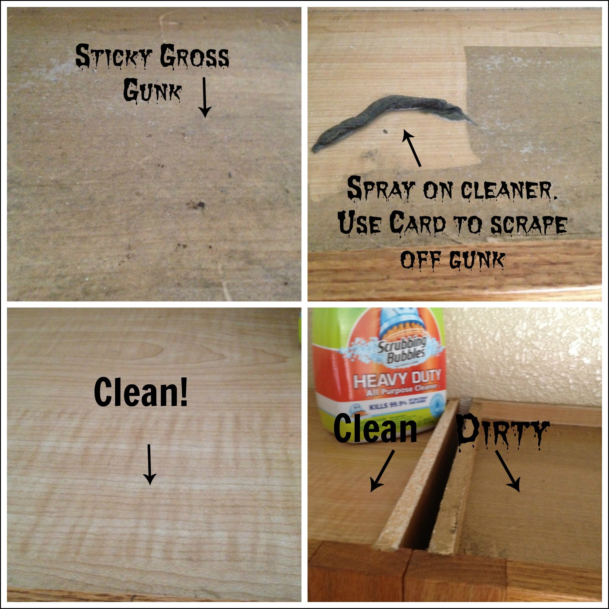 I have two recipes for your wood cabinets whether they have a natural finish or theyu0027re painted. Bottles for homemade cleaners) mix two tablespoons olive ... & Organic Degreaser For Wood Kitchen Cabinets Great Cabinet Degrease ...