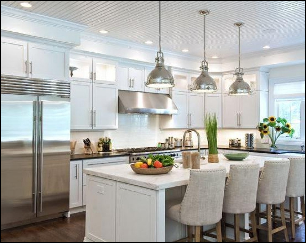 Therefore It May Well Be 1 Of The Inspirations In Designing Your Own Lighting Over Island Kitchen