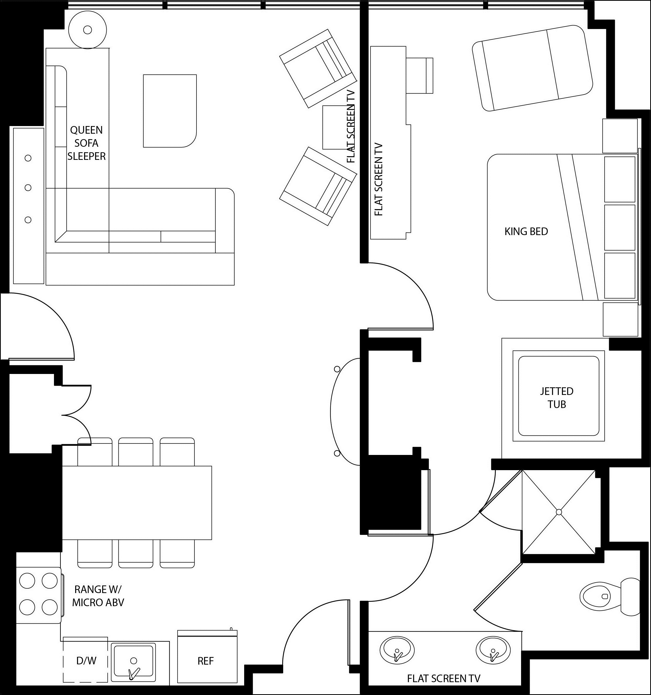 Find hotels and flights one hundred elara 2 bedroom for Floor plan finder