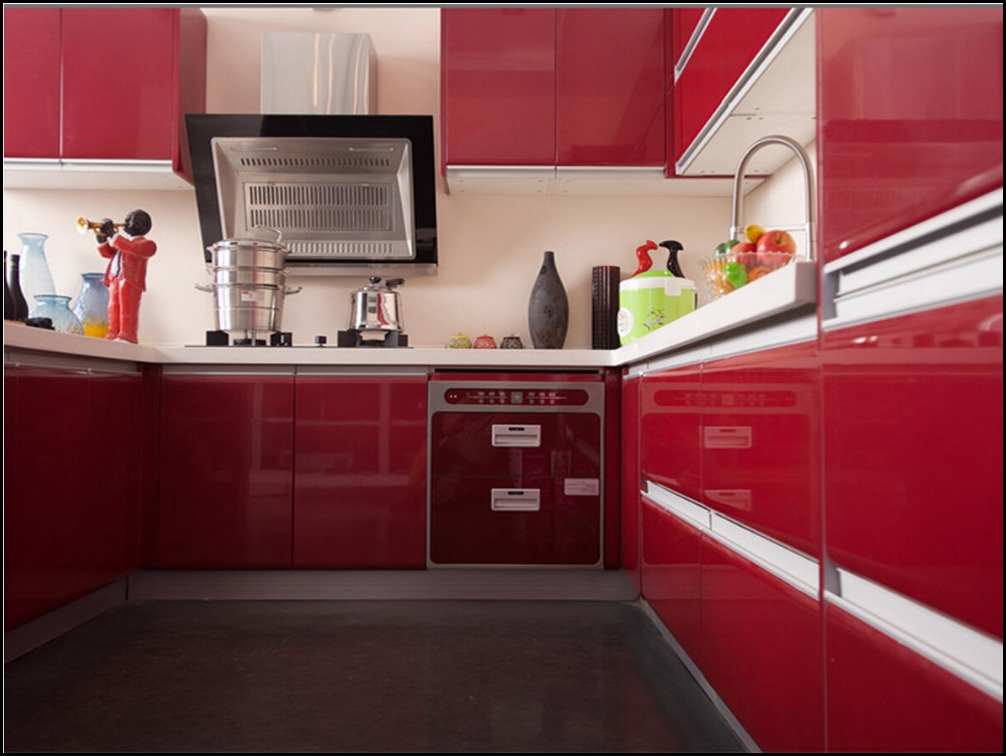 red lacquer kitchen cabinet red lacquer kitchen cabinet suppliers and manufacturers at alibaba. Black Bedroom Furniture Sets. Home Design Ideas
