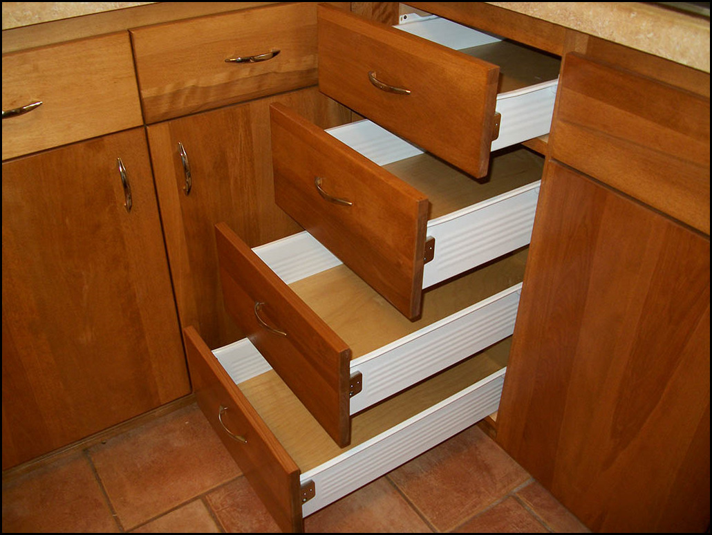 Kitchen drawer boxes organize your with us quikdrawers replacement drawers for cabinets cabinet for Bathroom cabinet drawer replacement