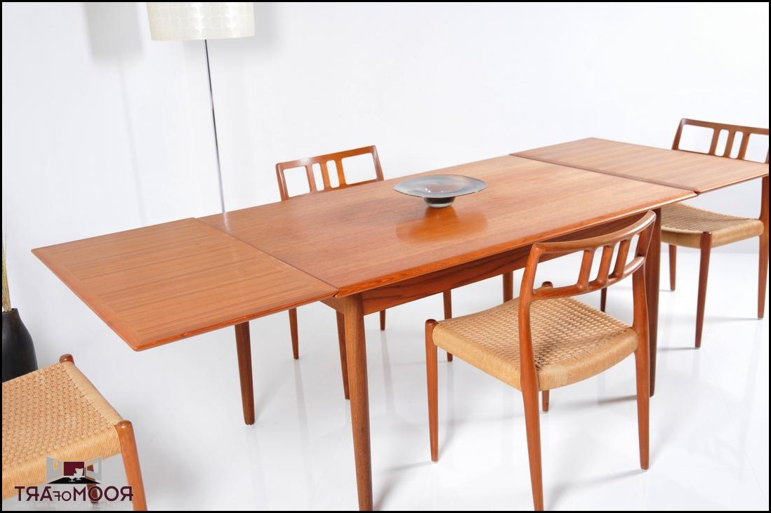 Danish Teak Dining Room Table And Chairs Astounding