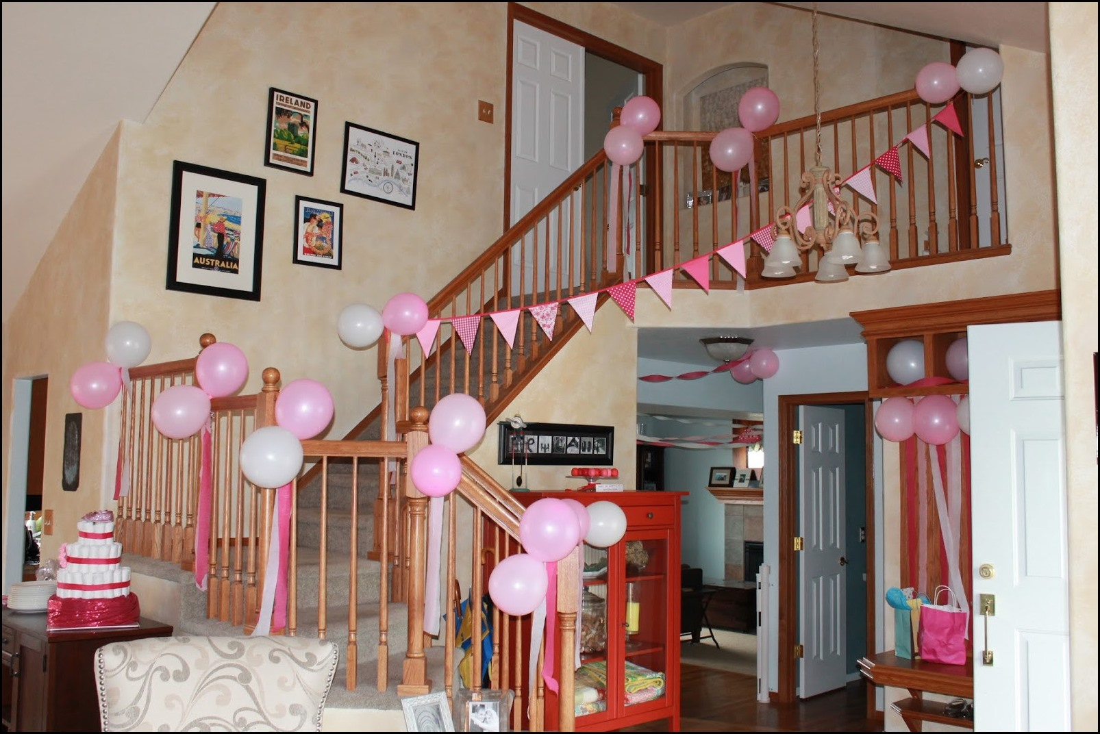 welcome home baby girl decorations 3
