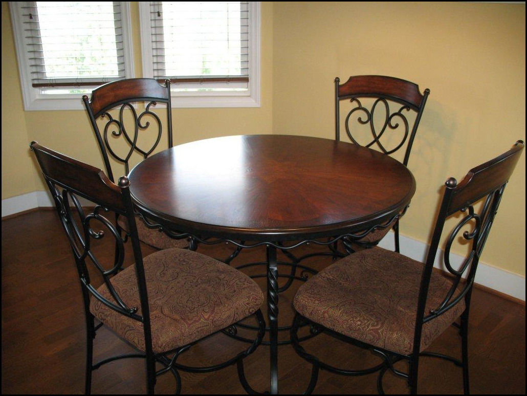 indoor wrought iron dining room sets. Black Bedroom Furniture Sets. Home Design Ideas