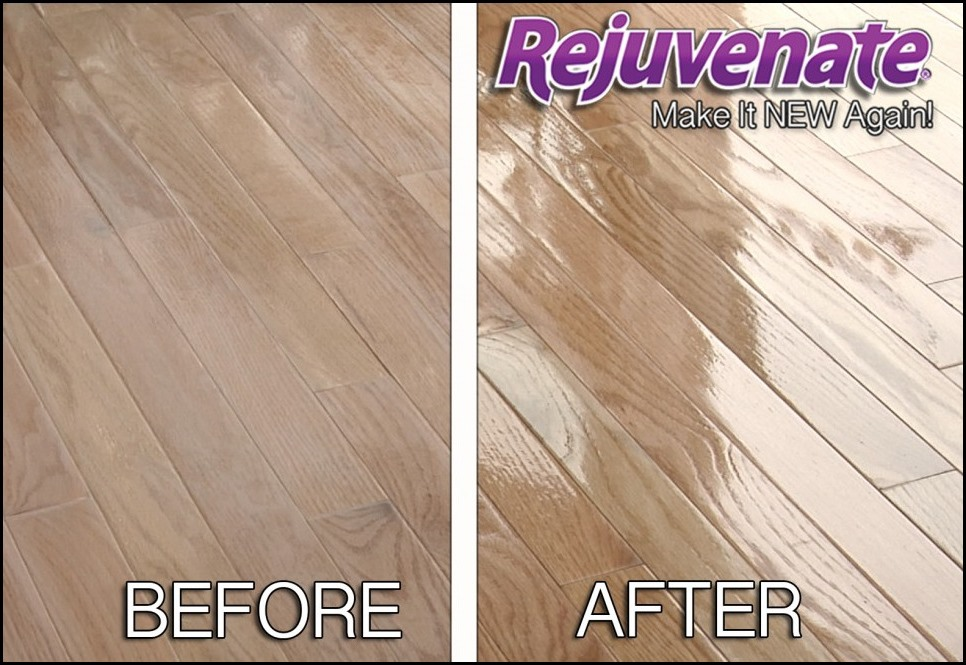 how to get laminate floors to shine again