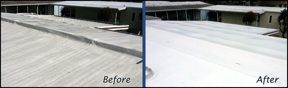mobile home roof coating 1 - Mobile Home Roof Coating