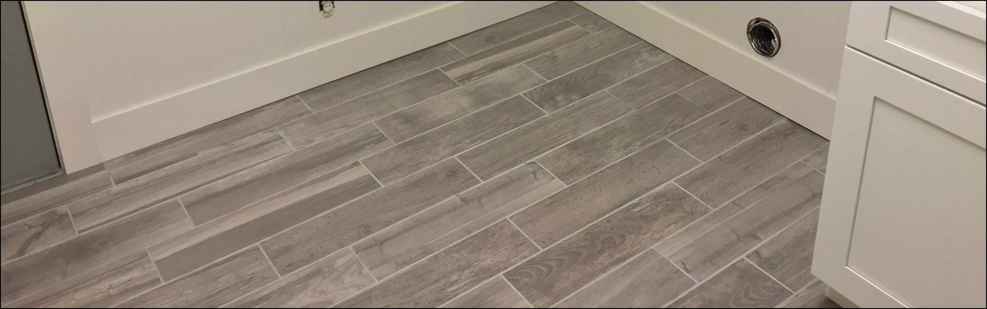 How To Set up Wooden Look Tile |