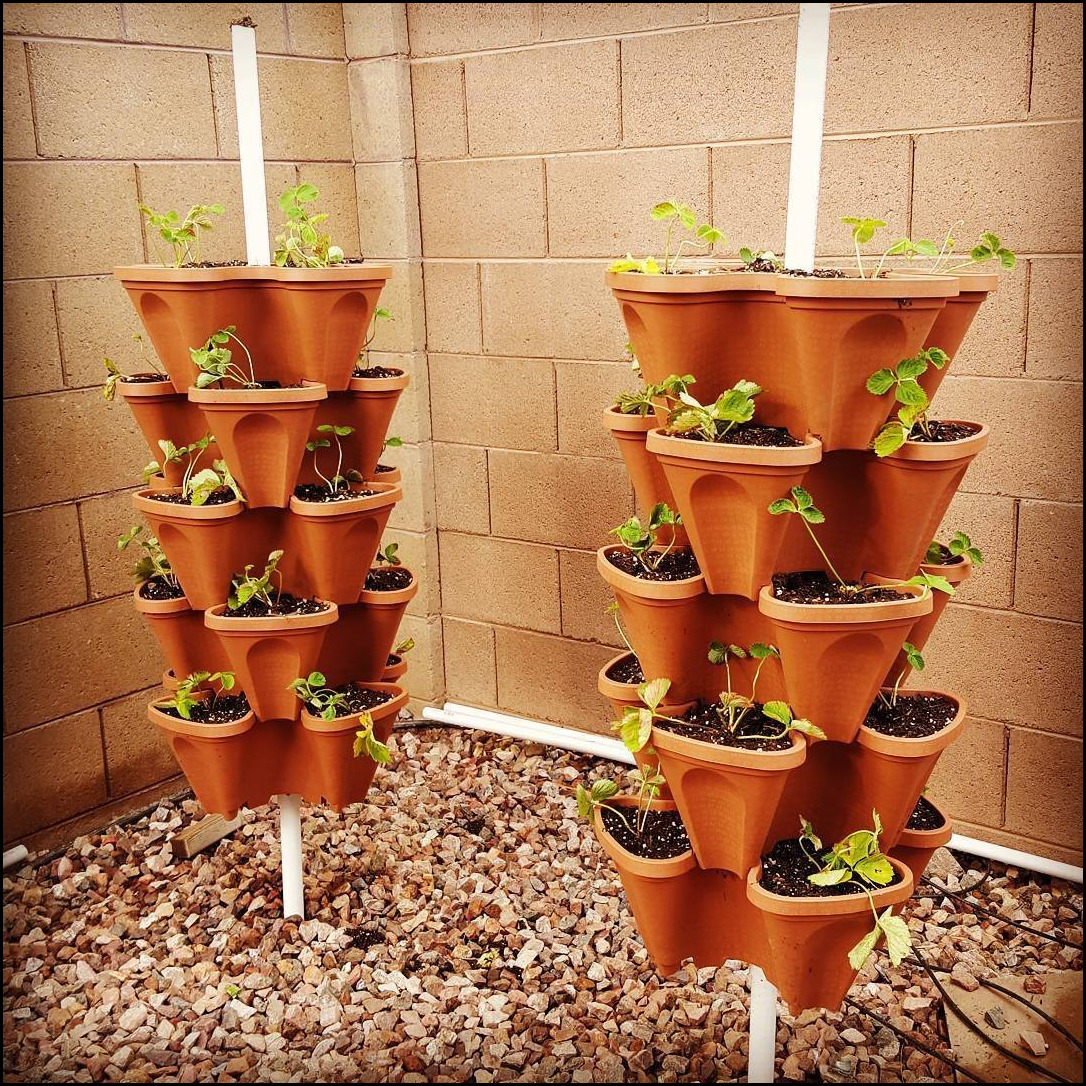 Stacking Planters Container Gardening 12