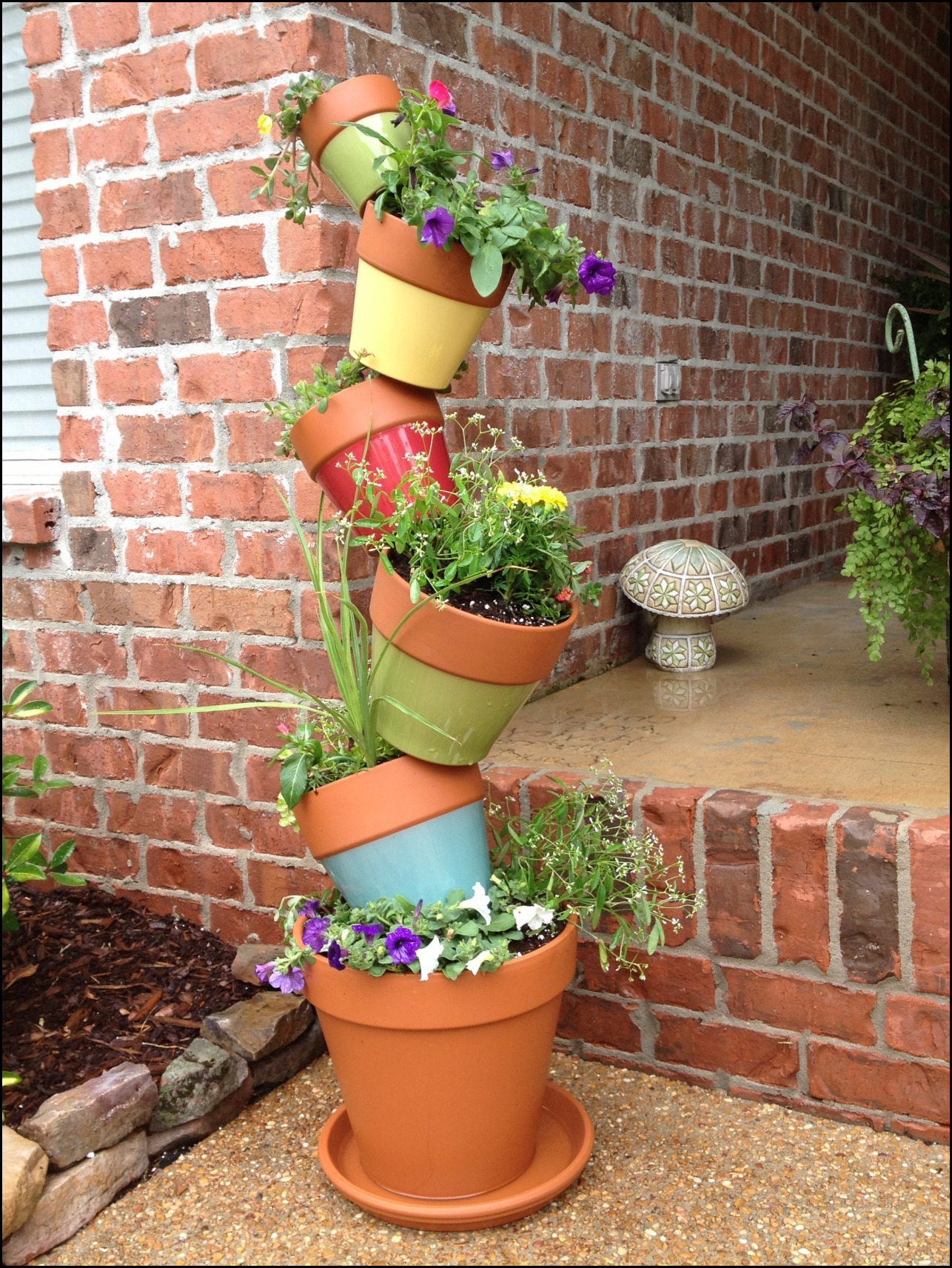 Stacking Planters Container Gardening 5