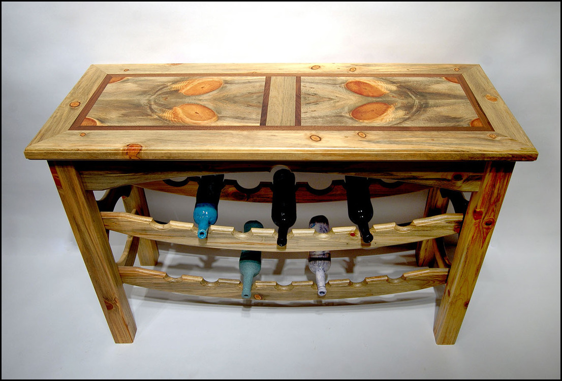 We Make Enjoyable Merchandise Like Canine Dishes And Benches Using Beetle  Kill Pine From Colorado. While Most Furniture Makers Would Toss These  Pieces, ... Awesome Ideas