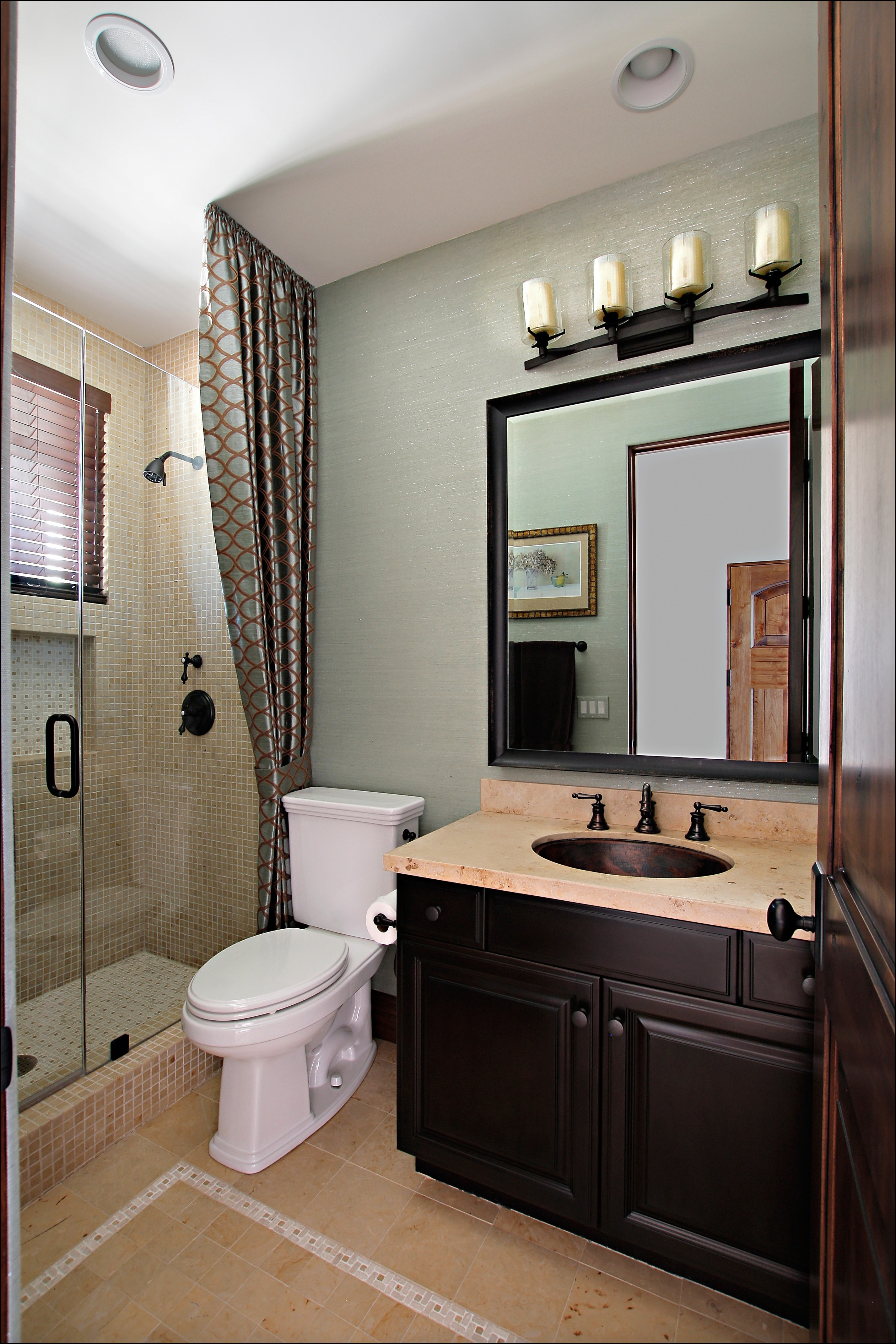 31 low cost tips for making your bathroom the finest room for Guest bathroom design photos