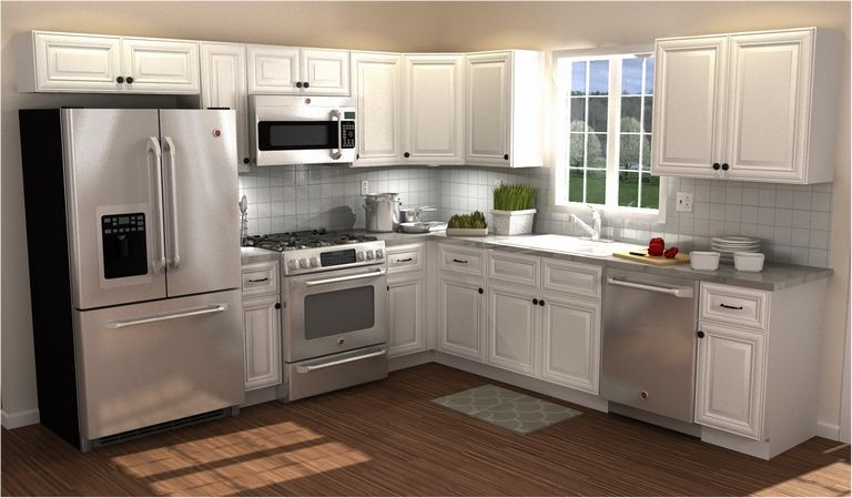 10x10 Kitchen Design