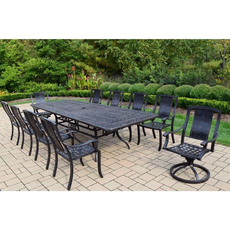11 Piece Patio Dining Set