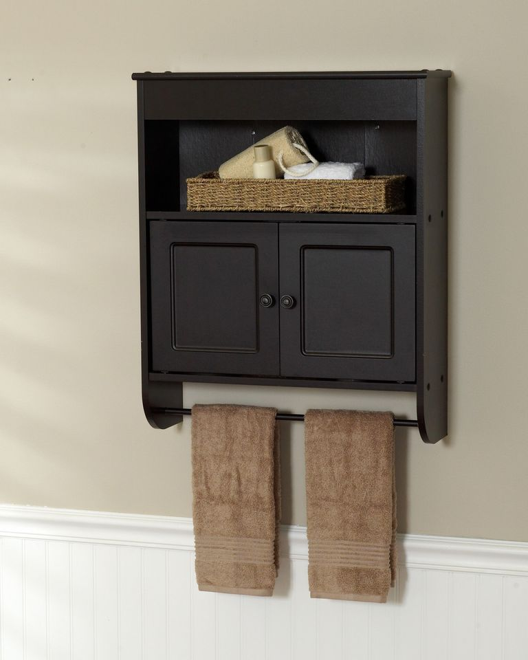 Bathroom Wall Towel Cabinet