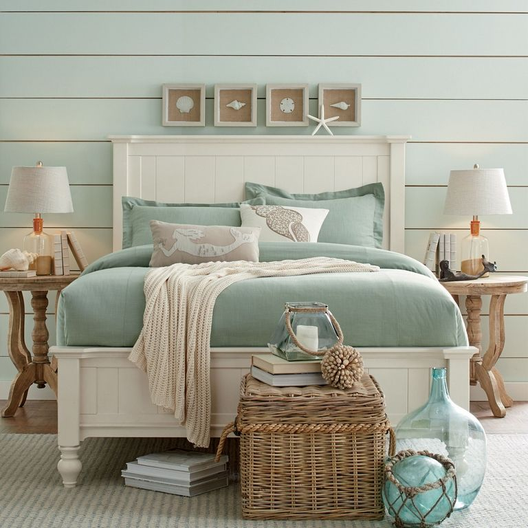 Beach Themed Bedroom Decor