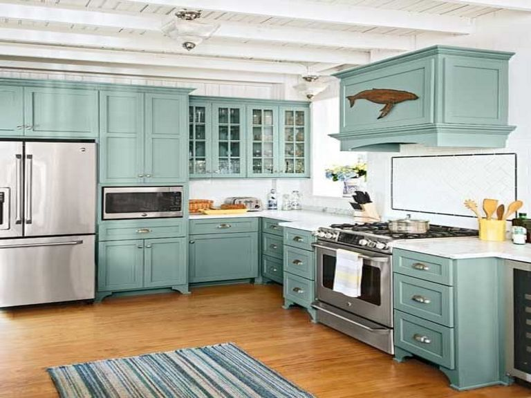 Beachy Kitchen Cabinets