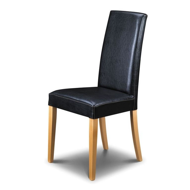 Black Leather Kitchen Chairs