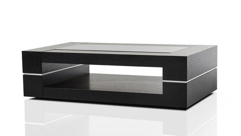 Black Modern Coffee Table