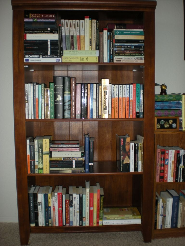Bookcase Organization