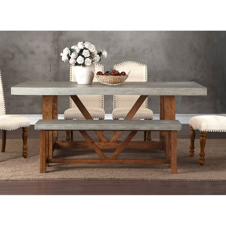 Cement Dining Table
