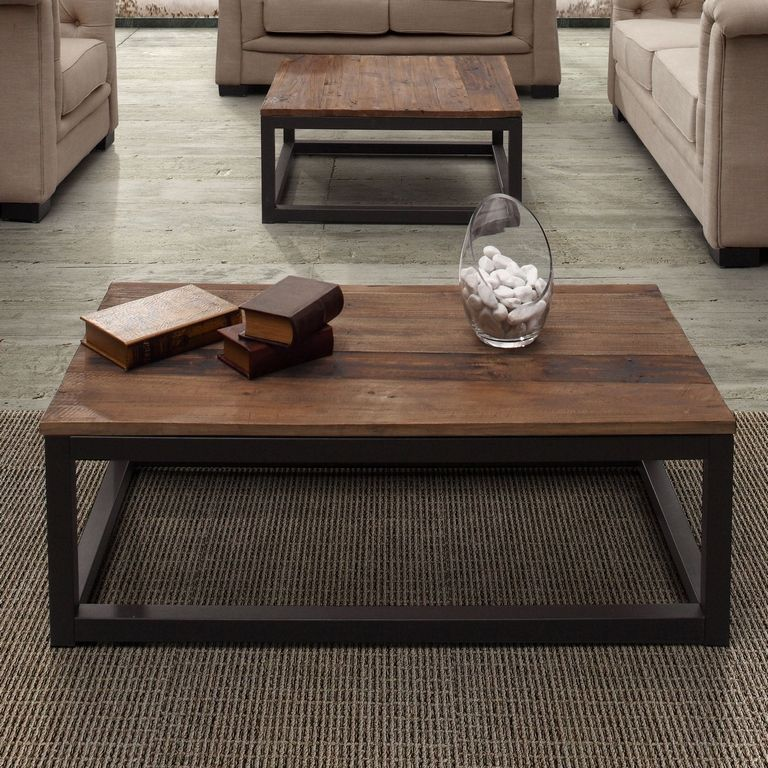 Center Coffee Table