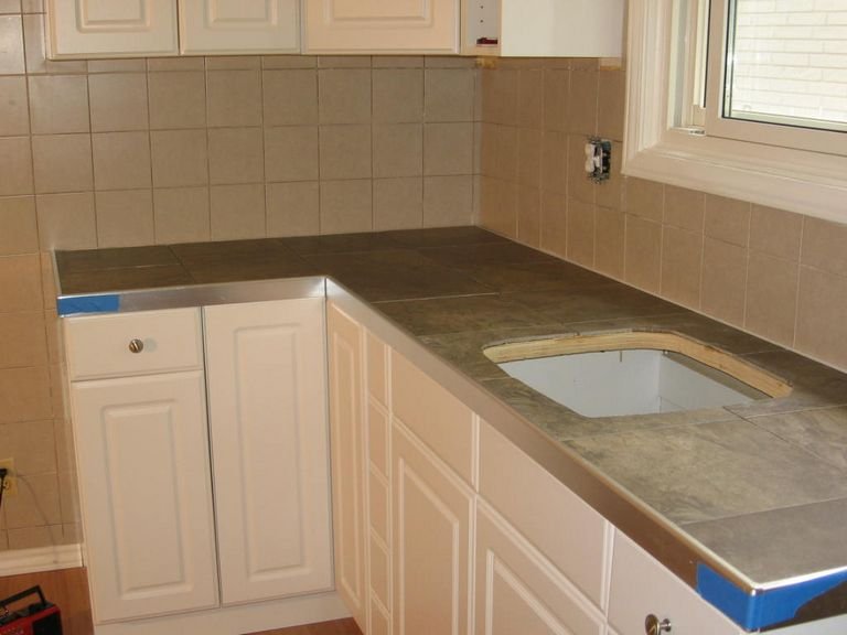 Ceramic Tile Countertops Ideas