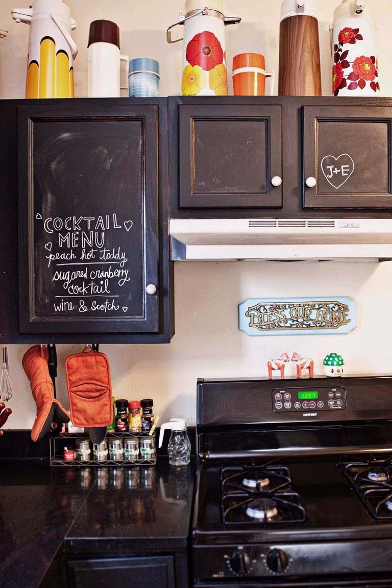 Chalkboard Paint For Cabinets