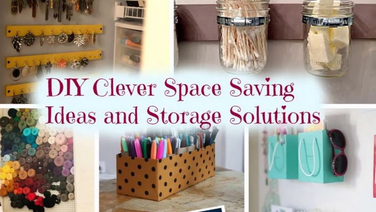 Clever Storage Ideas For Small Houses