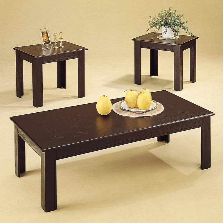 Coffee Table And Side Table Set