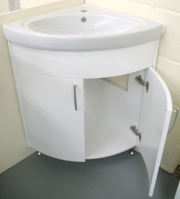 Corner Bathroom Sink Cabinet