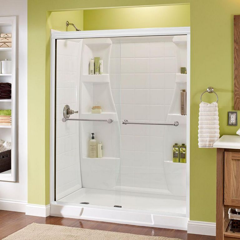 Delta Sliding Shower Doors
